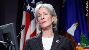 Health and Human Services Secretary Kathleen Sebelius warned health insurers to not look for loopholes in new law.