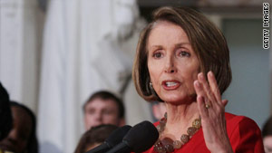 House Speaker Nancy Pelosi's party faces a tough re-election fight this November.