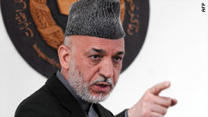 """Afghan President Hamid Karzai """"expressed surprise that his comments had caused a stir,"""" a source says."""