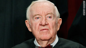 Justice John Paul Stevens turns 90 on April 20.