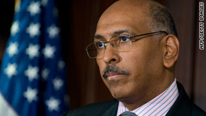 RNC Chairman Michael Steele says he's still the right person to lead the GOP into the November midterm elections.