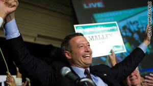 Martin O'Malley won the governorship in 2006.