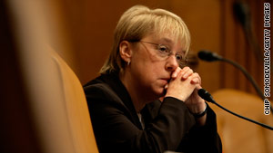 Officials arrested a man they say made death threats against Democratic Sen. Patty Murray of Washington.