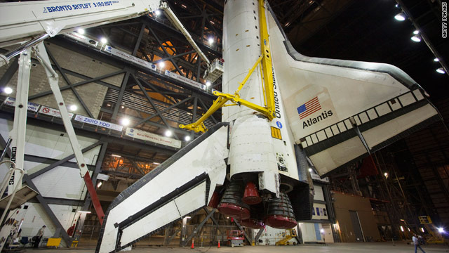 The U.S. shuttle program is ending this year. The U.S. will have to catch a ride with Russia's Soyuz after that.
