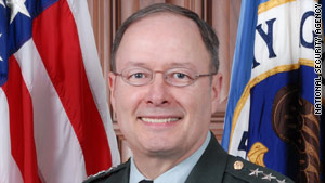 Lt. Gen. Keith Alexander is the current director of the National Security Agency.