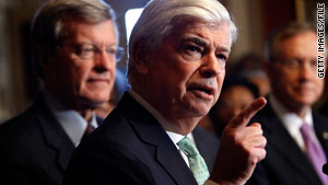 The financial reform bill of Sen. Christopher Dodd, D-Connecticut, contains a $50 billion bank liquidation fund.
