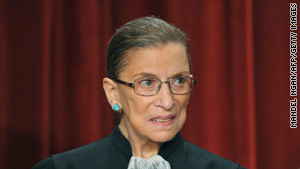 Justice Ruth Bader Ginsburg refused an emergency request from ACORN in a dispute over its loss of federal funding.