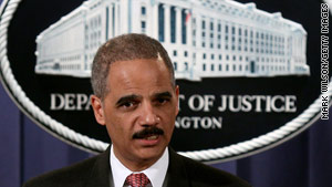 "Attorney General Eric Holder said Arizona's new immigration law could be ""subject to potential abuse."""