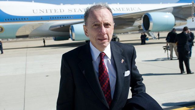 Sen. Arlen Specter, a long-time Republican, switched to the Democratic Party in April 2008.