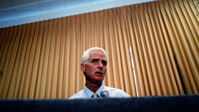 Florida Gov. Charlie Crist, a Republican, is popular among voters in the state.