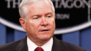 "Defense Secretary Robert Gates says premature action on ""don't ask, don't tell"" would send the wrong message."