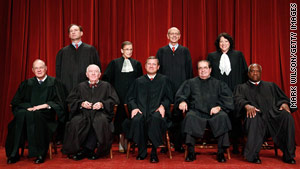 The current Supreme Court has six Catholics, two Jews and one Protestant.