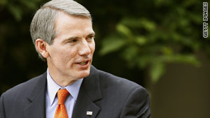 The winner of the Democratic primary in Ohio will face off in November against Republican Rob Portman.