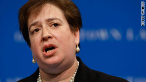 Solicitor General Elena Kagan is on President Obama's Supreme Court short list.