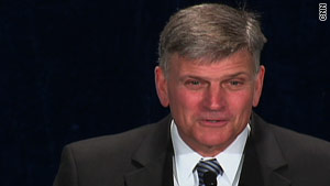 The Rev. Franklin Graham lost an invitation to the Pentagon's Day of Prayer event due to remarks on Islam.
