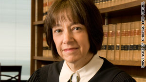 Diane Wood is a judge on the 7th U.S. Court of Appeals, based in Chicago, Illinois.