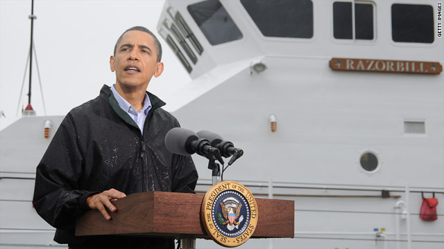President Obama has faced criticism over his administration's response to the Gulf oil spill.
