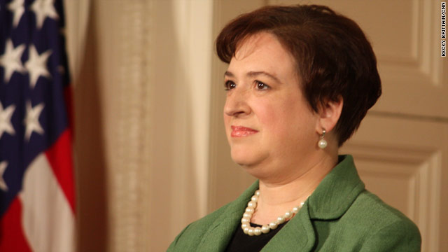 Law school friend on Elena Kagan: &quot;She's a person who engages and she's always had a broad spectrum of friends.&quot;