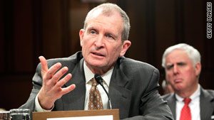 National Intelligence Director Dennis C. Blair has been unhappy and frustrated, two Senate sources say.