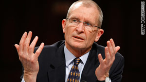 Former National Director of Intelligence Dennis Blair is said to have lost a power struggle with the CIA director.