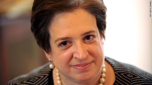 "Supreme Court nominee Elena Kagan told government interns  last year to ""do what you love, always do what you love."""