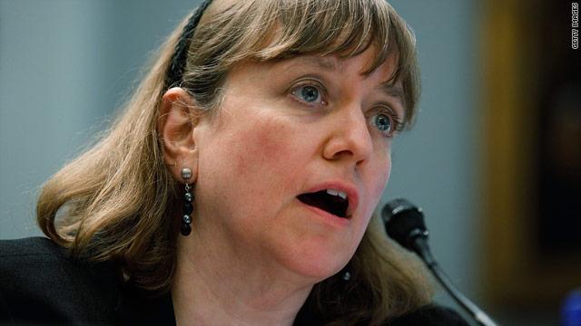 Elizabeth Birnbaum became head of the Minerals Management Service in July 2009.