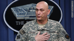 Army Gen. Ray Odierno, the commander of U.S. forces in Iraq, will talk with the president Wednesday.