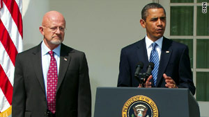 President Obama's nominee for nationl intelligence director, Air Force Lt. Gen. James Clapper, retired in 1995 after 32 years.