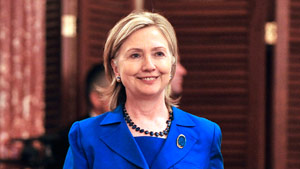 Secretary of State Hillary Clinton will attend the Organization of American States meeting on Monday in Peru.