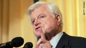 While late Sen.Ted Kennedy was no longer a candidate for president, threats against him continued, according to FBI files.