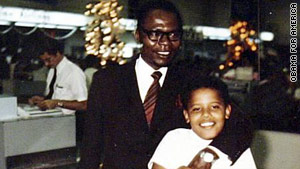 President Obama has talked openly about being abandoned by his father as a child. He last saw his dad when he was 10.