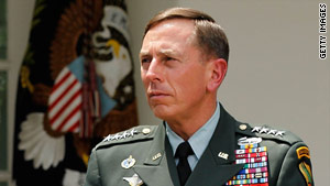 Gen. David Petraeus has been tapped to take over as  the top U.S. commander in Afghanistan.