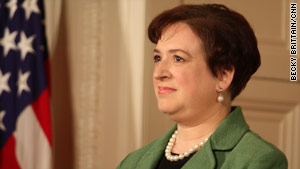 "In a 2003 e-mail to students, Elena Kagan said the military recruitment policy is ""a moral injustice of the first order."""