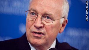 Former Vice President Dick Cheney was admitted to the hospital on Friday, his office said.