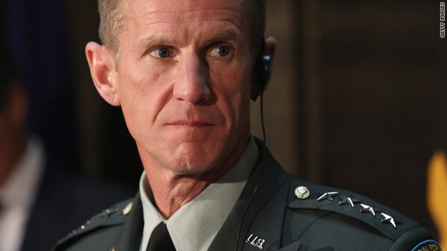 Gen. Stanley McChrystal resigned as the top U.S. commander in Afghanistan last week.
