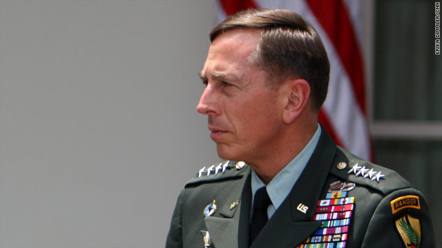 President Obama selected Gen. David Petraeus to replace Gen. Stanley McChrystal as top commander in Afghanistan.