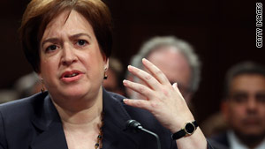 Kagan grilled by senators