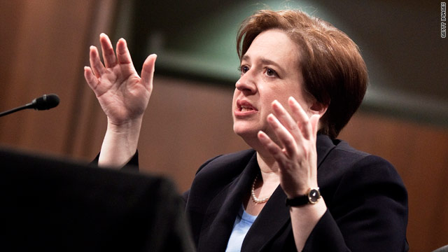 Elena Kagan's confirmation hearing continues Thursday with witnesses having their say.
