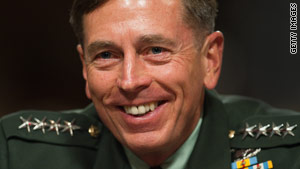 Gen. David Petraeus is Obama's third commander in Afghanistan in just over a year.