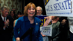 "Republican Senate candidate Sharron Angle says she's being ""held accountable for every idle word"" in her Nevada race."