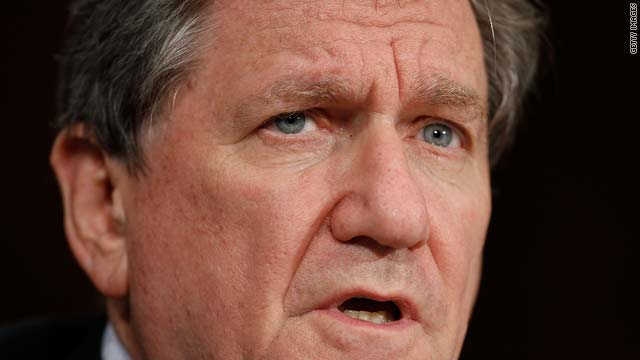 U.S. special envoy to Afghanistan and Pakistan Richard Holbrooke testifies before the Senate Foreign Relations Committee Wednesday in Washington.