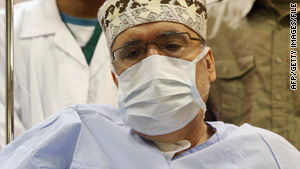 Recent news reports have questioned whether Abdelbaset al Megrahi -- seen here in September -- is as sick as depicted.