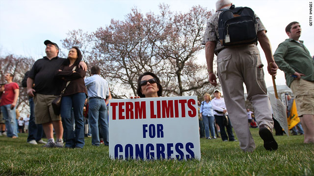 The issue of term limits has struck a chord with some voters disillusioned with their elected officials.