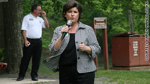 Ex-Georgia Secretary of State Karen Handel leads the pack in a close race for the GOP gubernatorial nomination.