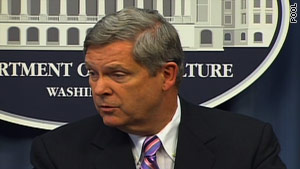 Agriculture Secretary Tom Vilsack said Wednesday he apologized to Shirley Sherrod for forcing her to resign from her government job in Georgia.