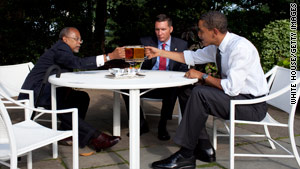 President Obama, police Sgt. James Crowley and professor Henry Louis Gates Jr. held a beer summit in the wake of the controversy surrounding Gates' arrest last year.