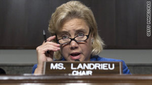 The president has praised the efforts of Sen. Mary Landrieu, D-Louisiana, who has negotiated with a GOP senator.