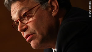 "Sen. Al Franken charged that ""Republicans want to go back to the dark days of the Bush administration."""