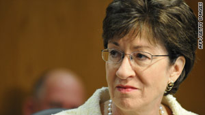 Republican Sen. Susan Collins opposes the bill because it puts less restrictions on labor unions.