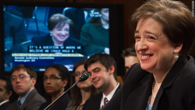 The full Senate is expected to vote on Elena Kagan's nomination before its August recess.
